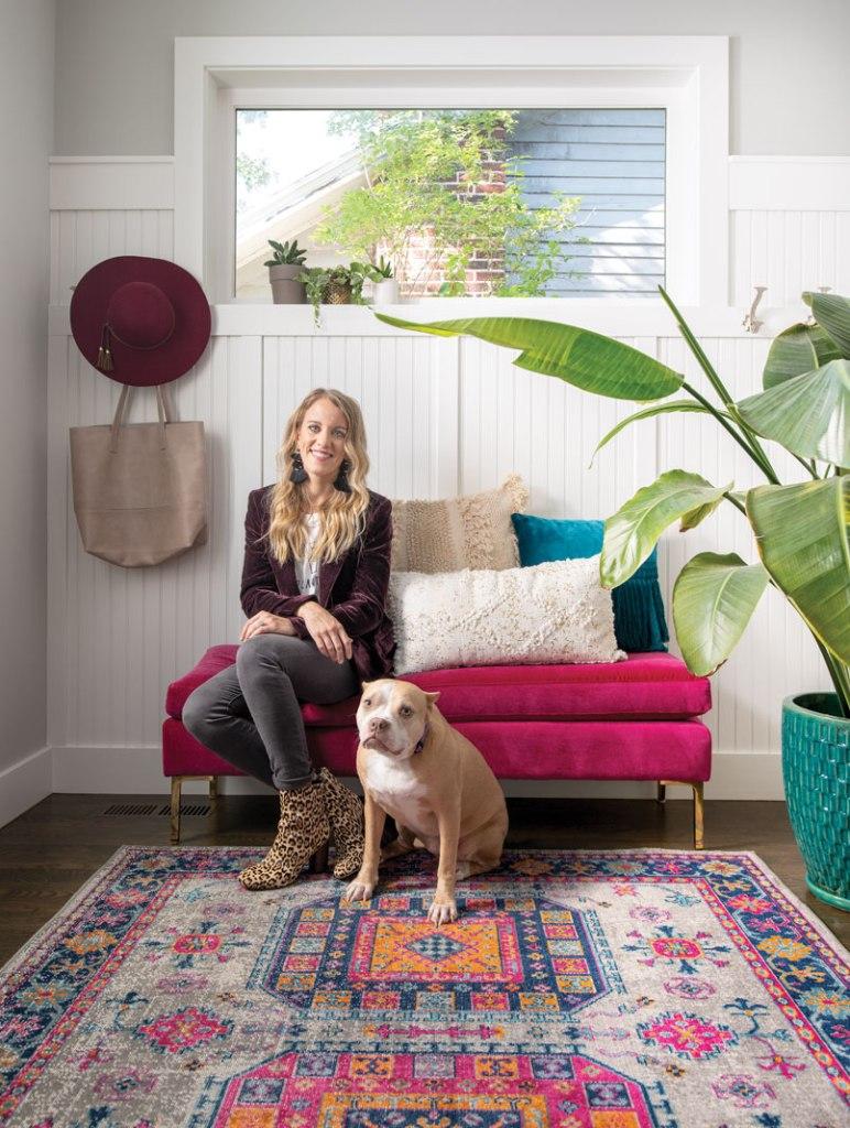 Paisley & Sparrow blogger Jen Biswas